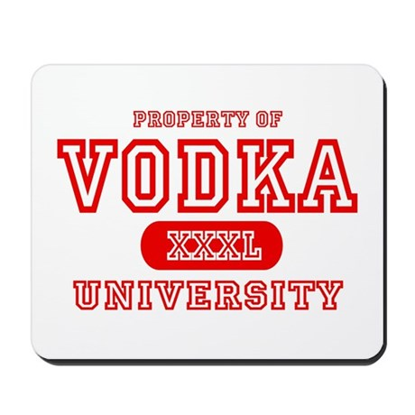 Vodka University Mousepad