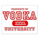 Vodka University Small Poster