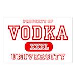 Vodka University Postcards (Package of 8)