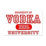 Vodka University Mini Poster Print