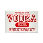 Vodka University Rectangle Magnet