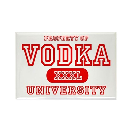 Vodka University Rectangle Magnet (10 pack)