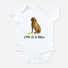 Yellow Lab Life Infant Bodysuit
