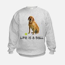 Yellow Lab Life Sweatshirt
