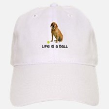 Yellow Lab Life Baseball Baseball Cap