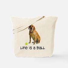 Yellow Lab Life Tote Bag