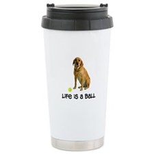 Yellow Lab Life Travel Coffee Mug