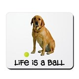 Yellow labrador retriever Classic Mousepad