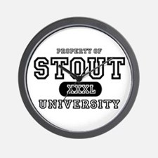 Stout University Wall Clock