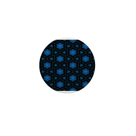 Blue Stars Pattern Mini Button (10 pack)