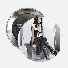 "Goth Girl (A) 2.25"" Button"