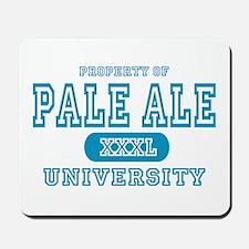 Pale Ale University IPA Mousepad
