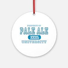 Pale Ale University IPA Ornament (Round)