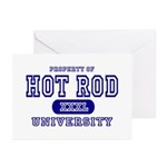 Hot Rod University Greeting Cards (Pk of 10)