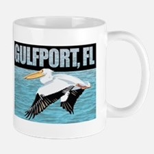 Gulfport, FL Pelican Flying Mug