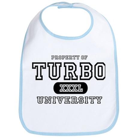 Turbo University Property Bib
