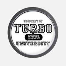 Turbo University Property Wall Clock