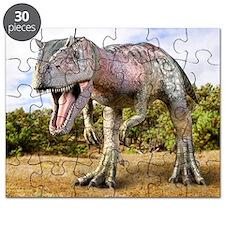 Allosaurus dinosaur, artwork - Puzzle