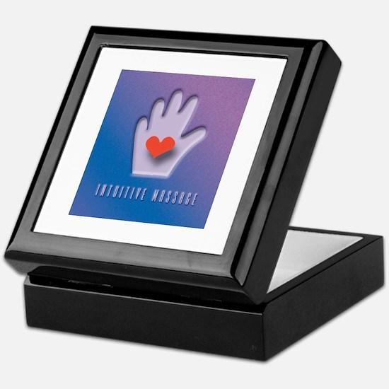 intuitive massage Keepsake Box