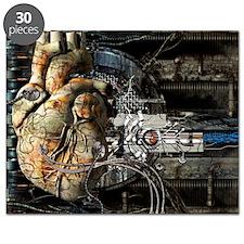 Artificial heart, conceptual artwork - Puzzle