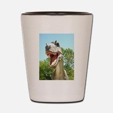 Dinosaur T-Rex Shot Glass