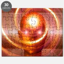 Artificial intelligence, artwork - Puzzle