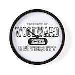 Woodward University Property Wall Clock