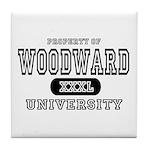Woodward University Property Tile Coaster