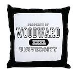 Woodward University Property Throw Pillow