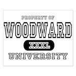 Woodward University Property Small Poster