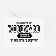 Woodward University Property Greeting Cards (Packa