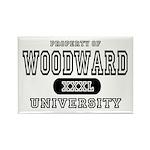 Woodward University Property Rectangle Magnet