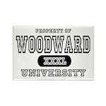 Woodward University Property Rectangle Magnet (10