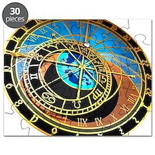 Astronomical clock, artwork - Puzzle