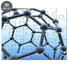 Buckminsterfullerene molecule - Puzzle