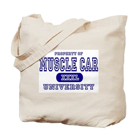 Muscle Car University Property Tote Bag