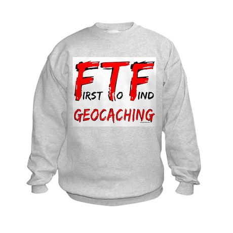 FTF Geocaching Kids Sweatshirt