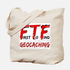 FTF Geocaching Tote Bag