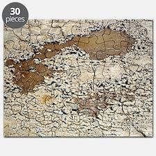 Cracked mud - Puzzle