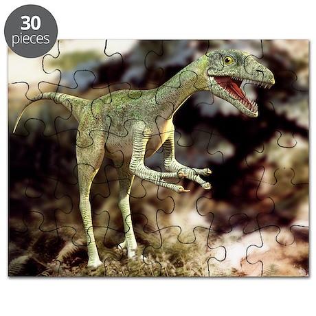 Compsognathus dinosaur - Puzzle