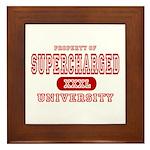 Supercharged University Property Framed Tile