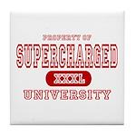 Supercharged University Property Tile Coaster