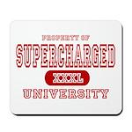 Supercharged University Property Mousepad