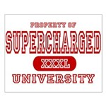 Supercharged University Property Small Poster