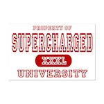 Supercharged University Property Mini Poster Print