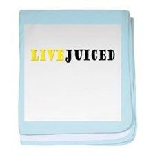 LIVEJUICED baby blanket