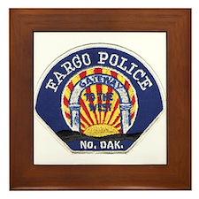 Fargo Police Framed Tile