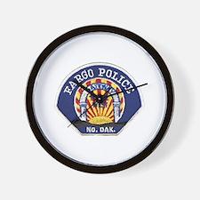 Fargo Police Wall Clock