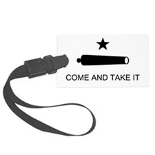 Texas Come and Take It flag Luggage Tag