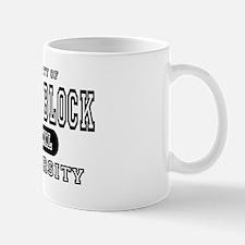 Small Block University Property Mug